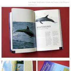 Hire Robert Alejandro - Portfolio - Book Design: Field Guide to Whales and Dolphins