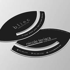 Hire Roberth Coman - Portfolio - Eye Business Card Design