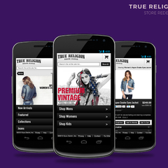 Hire Joshua Butner - Portfolio - (Old Work) True Religion