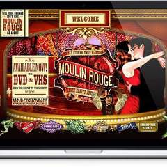 Hire Melvin Rivera - Portfolio - Moulin Rouge Website