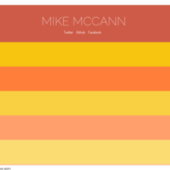Hire Michael McCann - Portfolio - Personal Website