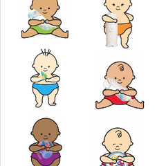 Hire Nerissa Thomas - Portfolio - Playtex Baby illustrations