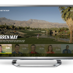 Hire Jill Gustaferri - Portfolio - Golf Digest Smart TV Application