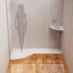 Hire Michaela  Sekerová - Portfolio - Bathroom design using HI-MACS material