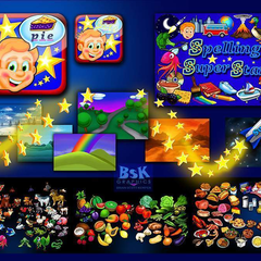 "Hire Brian Kemper - Portfolio - ""Spelling Super Star"" Mobile App. Game"