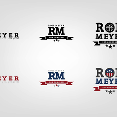 Hire Malik Smith - Portfolio - Ron Meyer for Congress (Brand Concepts) // 2 of 2