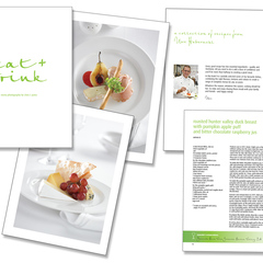 Hire Tracy James - Portfolio - Cook Book for Sydney Convention & Exhibitio Centre