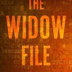 "Hire Stewart Williams - Portfolio - ""The Widow File"" Book Cover"