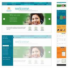 Hire Joseph Sherman - Portfolio - One Page Scrolling Website for Healthcare Client