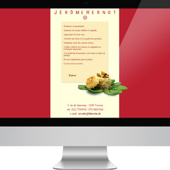 Hire Guillaume de Peyer - Portfolio - Jérôme Hernot website