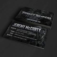 Hire Grant Darrah - Portfolio - Turkey Reapers Business Cards