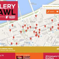 Hire Nathan Swartz - Portfolio - Pittsburgh Cultural District Gallery Crawl
