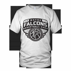 Hire Grant Darrah - Portfolio - Wayne Falcons Basketball Camp Shirt
