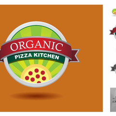 Hire Uriah Shadle - Portfolio - Example Logo Design - Organic Pizza Kitchen