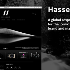 Hire Christian Svalander - Portfolio - Hasselblad, global responsive website
