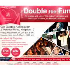 Hire Oneil Hadams - Portfolio - Double The Fun Flyer Redesign