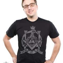Hire Miroslav Kostic - Portfolio - Secret Society T-Shirt Design